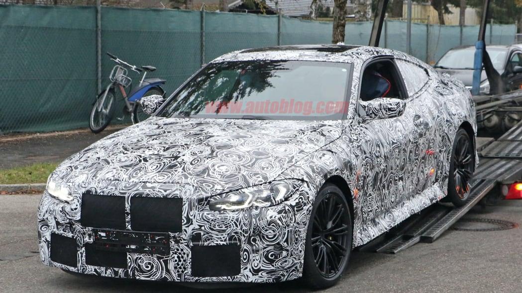 BMW M4 Coupe spy shots 06