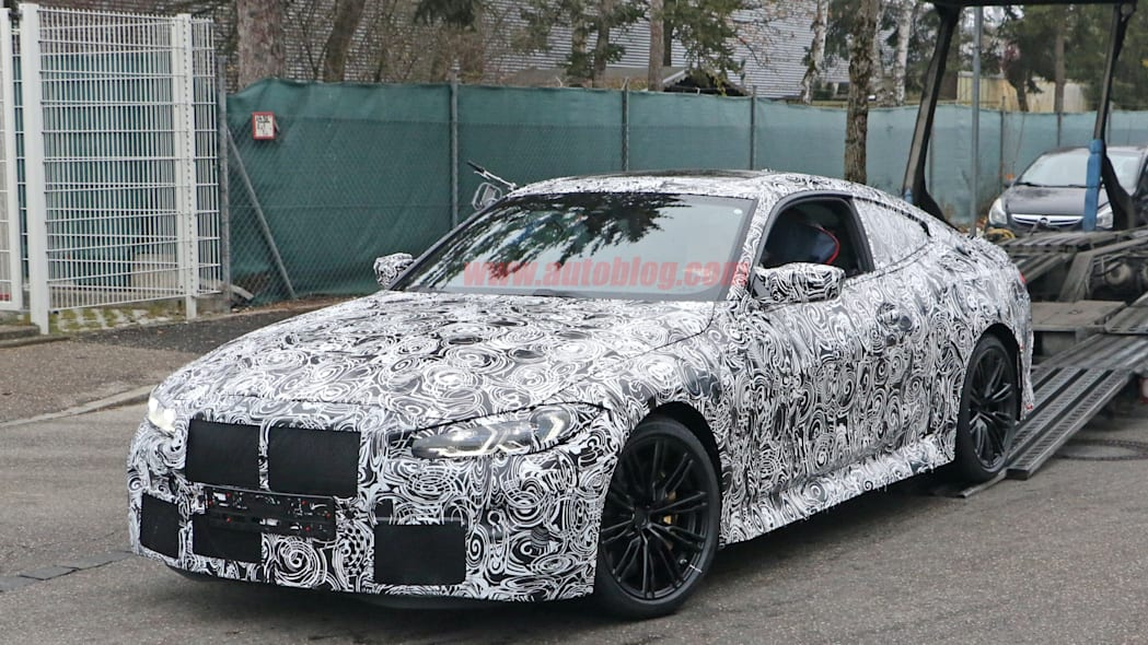 BMW M4 Coupe spy shots 07
