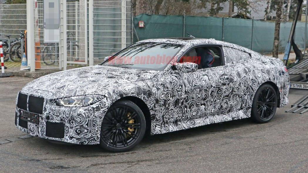 BMW M4 Coupe spy shots 09