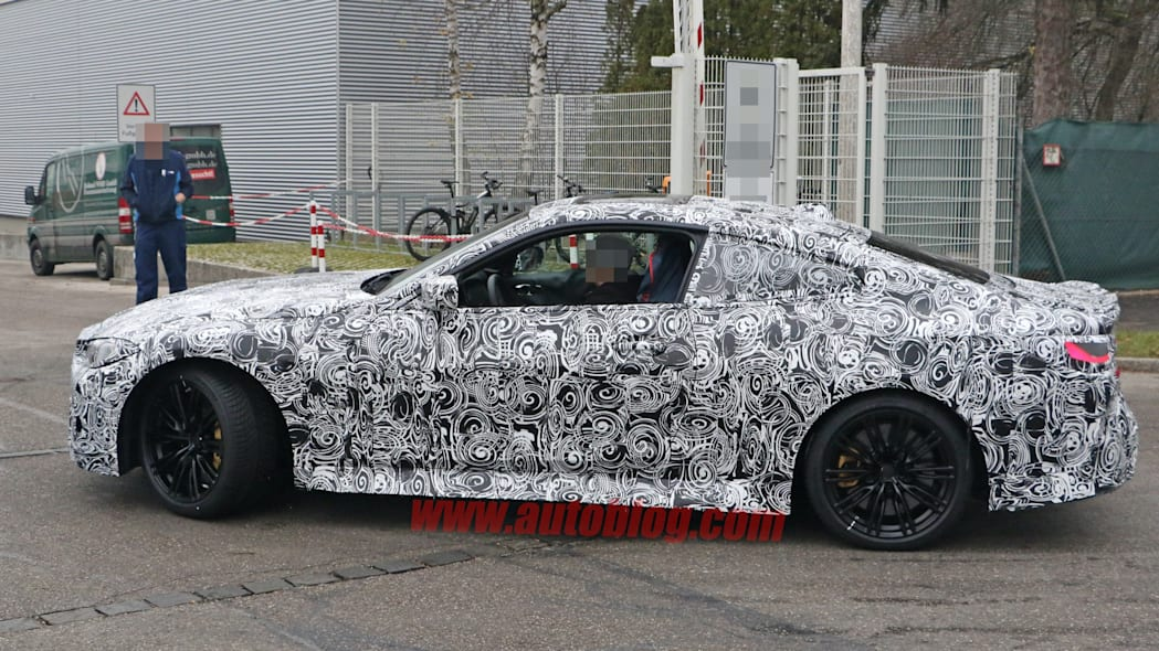 BMW M4 Coupe spy shots 10
