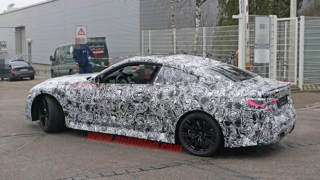 BMW M4 Coupe spy shots 11