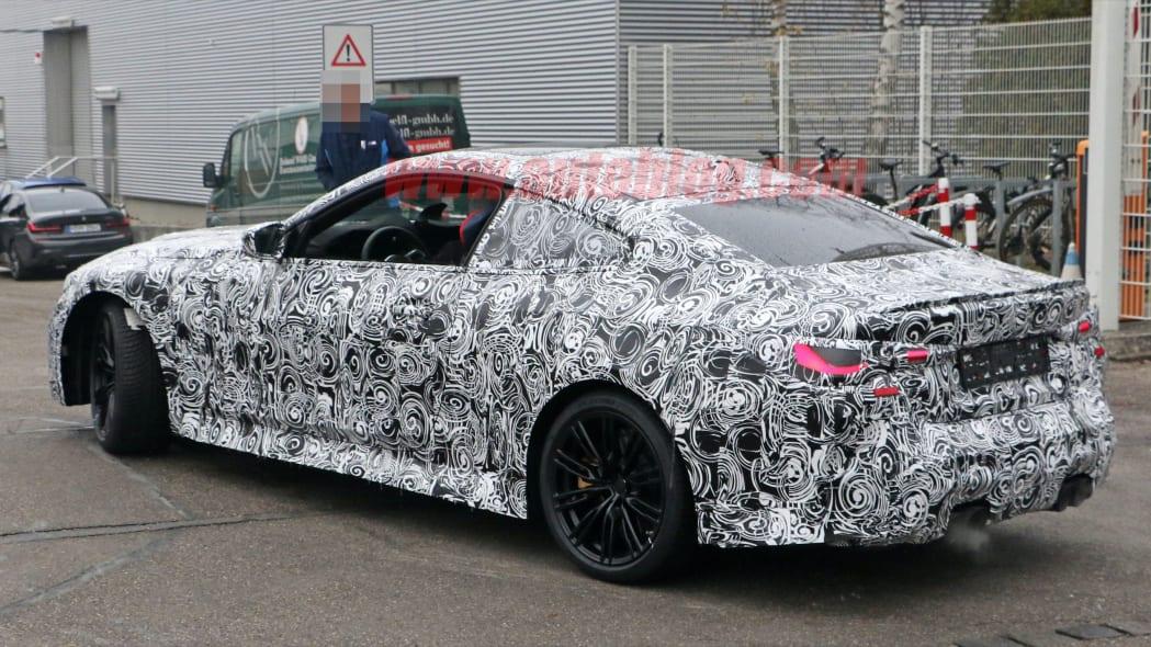 BMW M4 Coupe spy shots 12