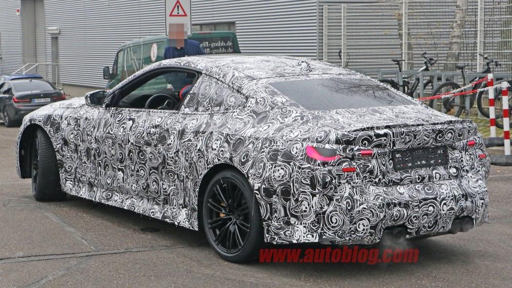 BMW M4 Coupe spy shots 13