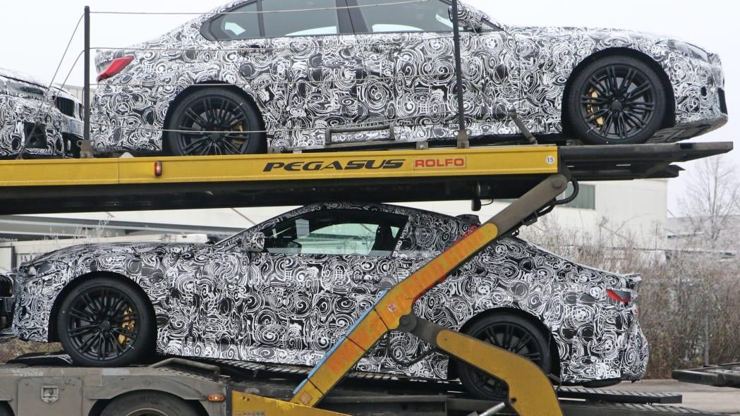 BMW M4 Coupe spy shots 18