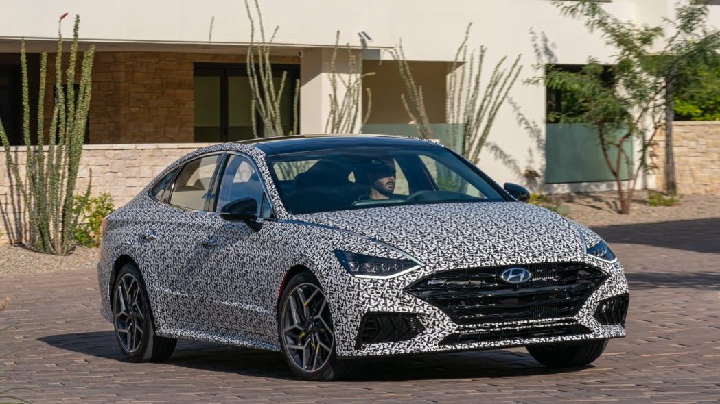 2021 hyundai sonata nline review  specs photos driving