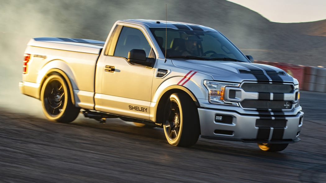 Shelby sells more hot-rodded F-150s than Mustangs