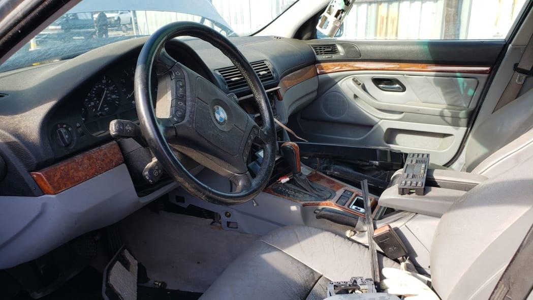 04 - 1998 BMW 528i in California junkyard - photo by Murilee Martin