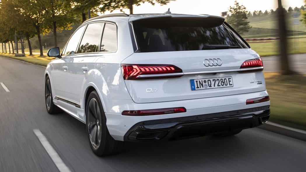 Audi Q7 TFSI e quattro Euro-spec