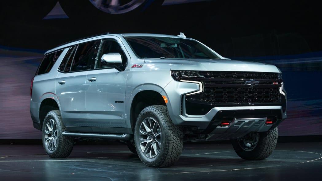 2021 Chevrolet Tahoe Reveal