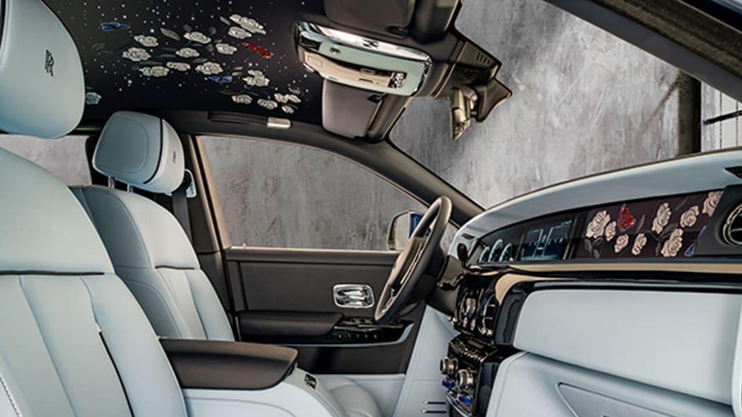 Rolls-Royce Phantom Floral Bespoke