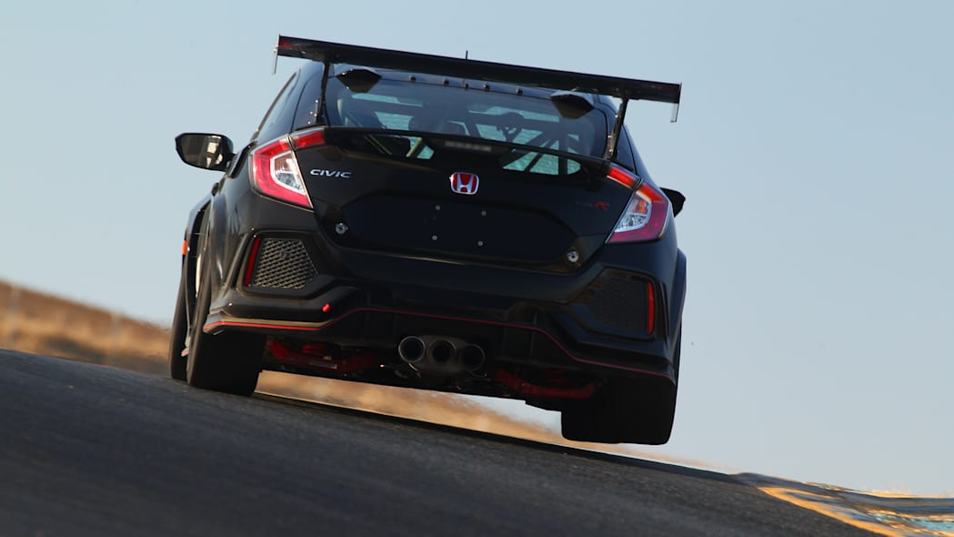 2020 Honda Civic Type R TC race car