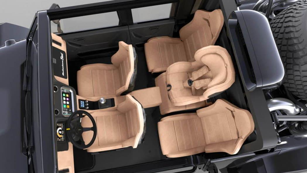SCG Four-Door Boot Interior Render