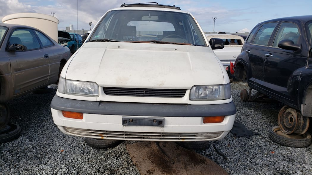 14 - 1992 Eagle Summit AWD in California junkyard - photo by Murilee Martin