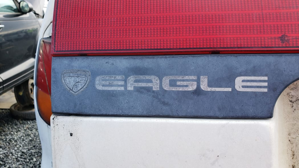 25 - 1992 Eagle Summit AWD in California junkyard - photo by Murilee Martin