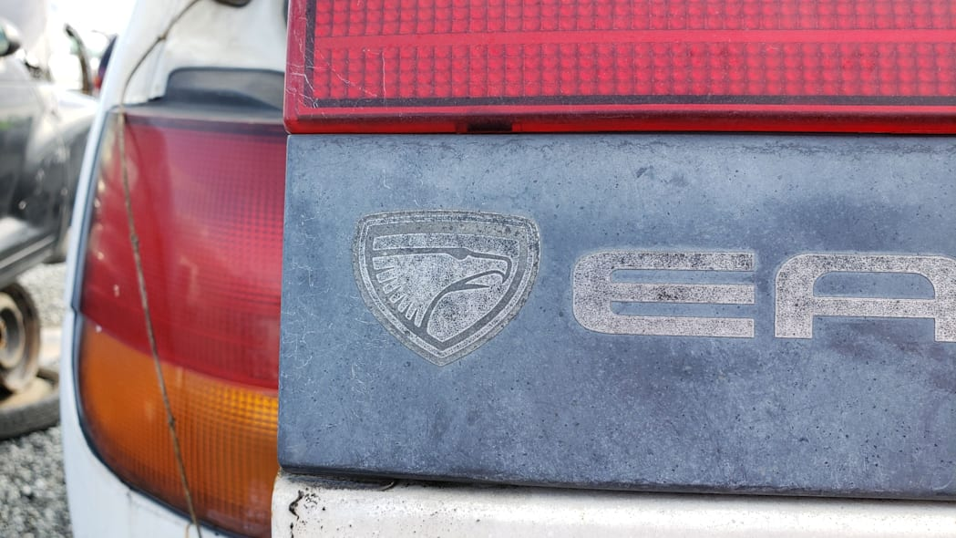 26 - 1992 Eagle Summit AWD in California junkyard - photo by Murilee Martin