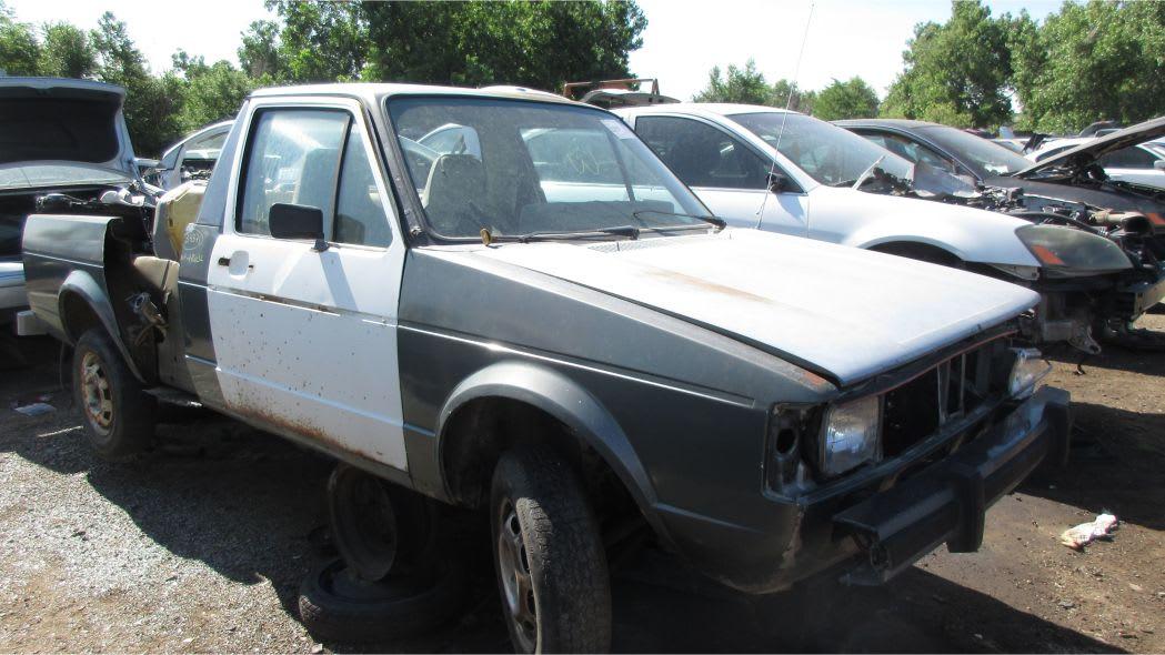 1981 Volkswagen Rabbit Diesel Pickup