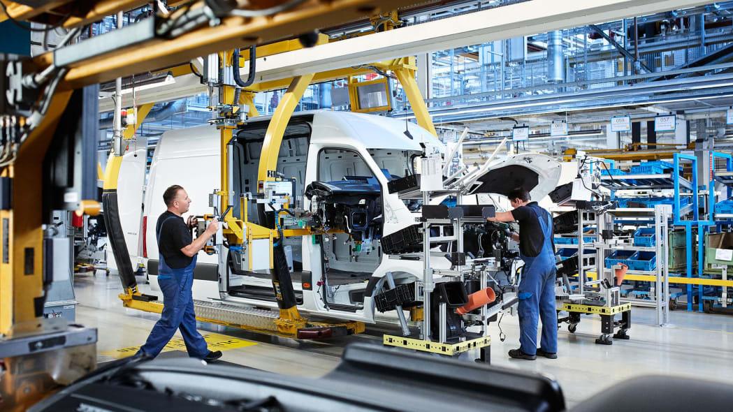 Mercedes-Benz Sprinter Werk Düsseldorfnull