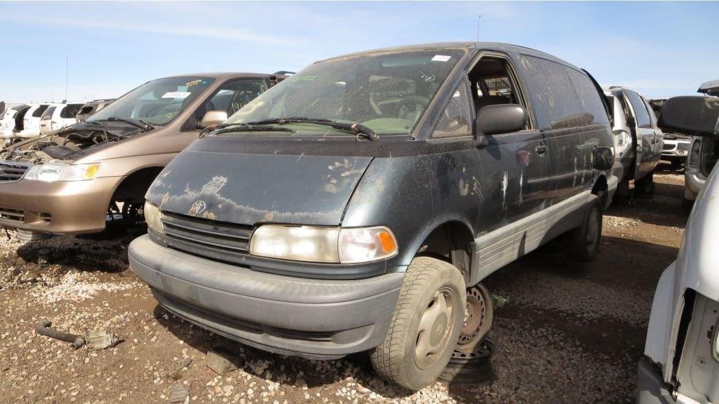 1996 Toyota Previa All-Trac