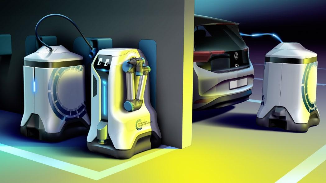 Revolution in the underground car park – Volkswagen lets its c