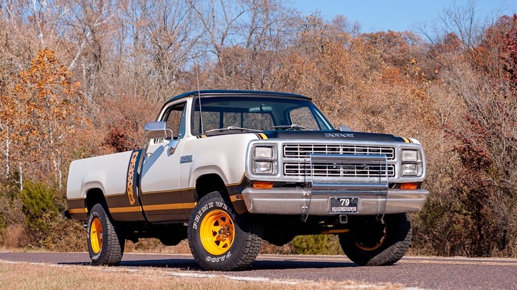 79 Dodge Power Wagon front