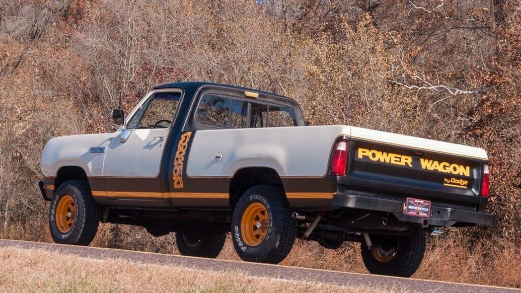 79 Dodge Power Wagon rear