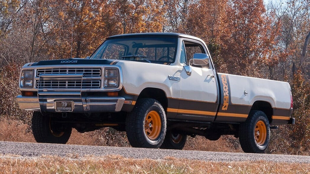 79 Dodge Power Wagon dr side