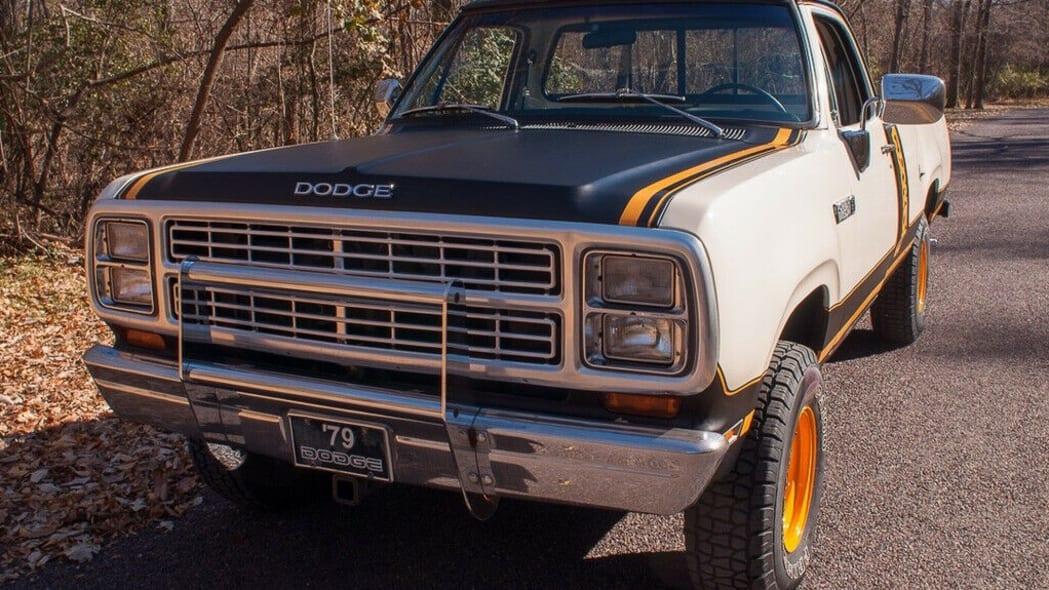 79 Dodge Power Wagon close up