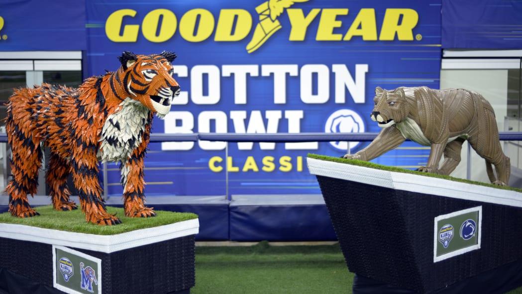 Goodyear Cotton Bowl Mascots