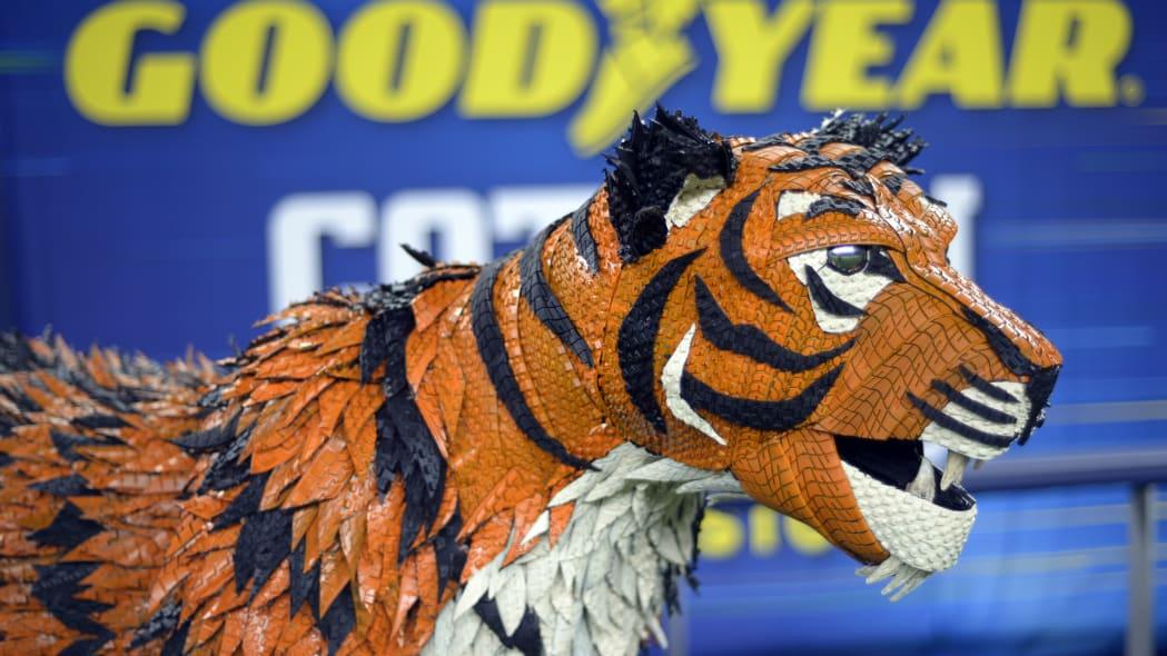 Goodyear Cotton Bowl Tom Tiger Mascot Head