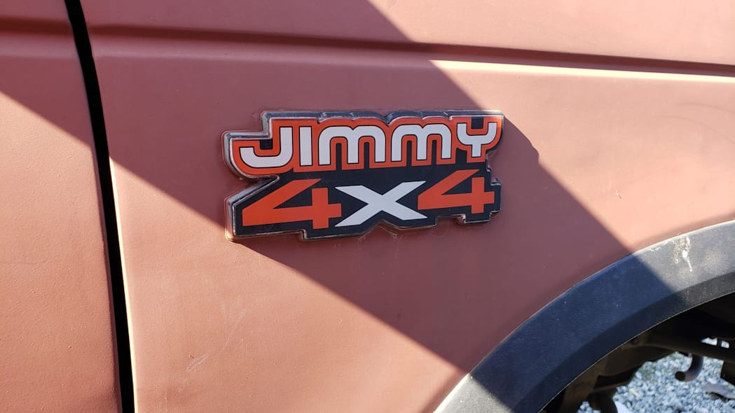 23 - 1990 GMC Jimmy in California junkyard - photo by Murilee Martin