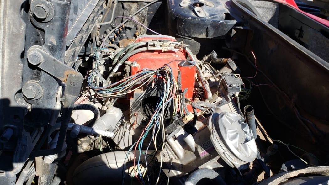 14 - 1984 Pontiac Fiero in Colorado junkyard - photo by Murilee Martin