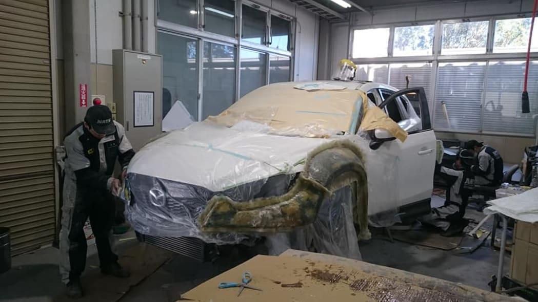 Mazda CX-Runner work in progress
