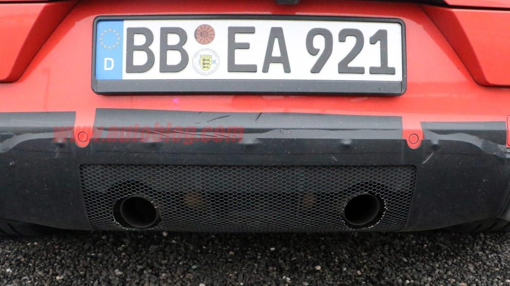 Porsche Cayenne Coupe GT prototype