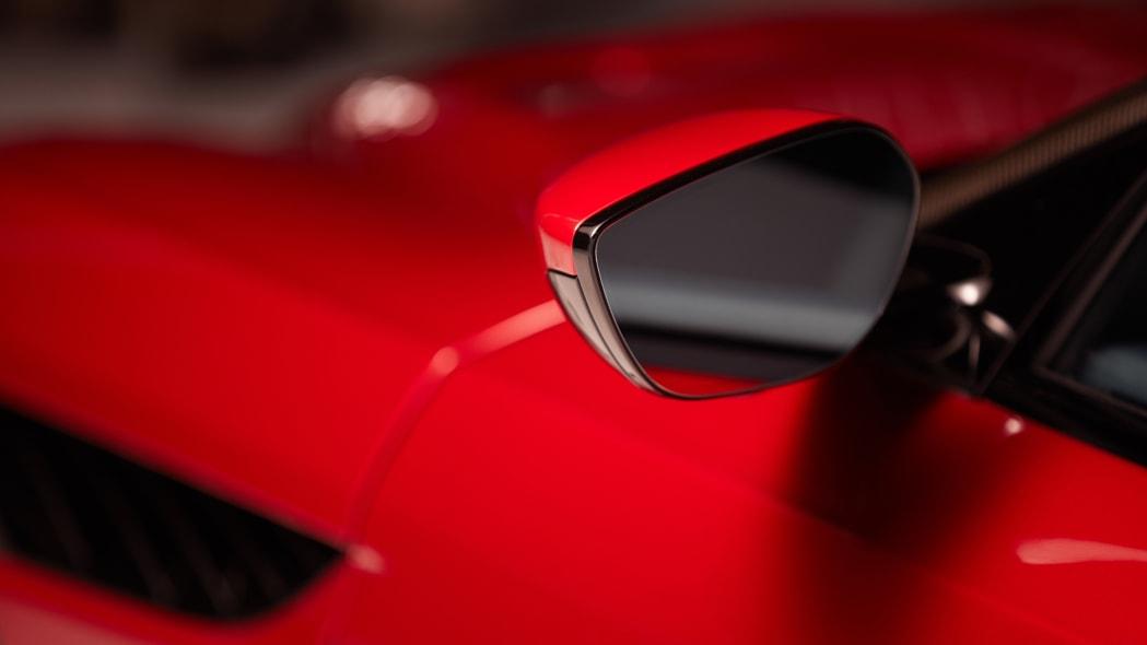 Gentex Aston Martin tri-camera mirror system