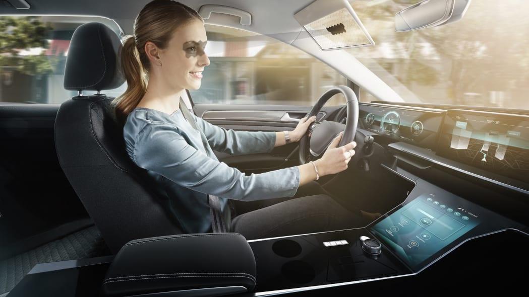 Bosch Virtual Visor technology