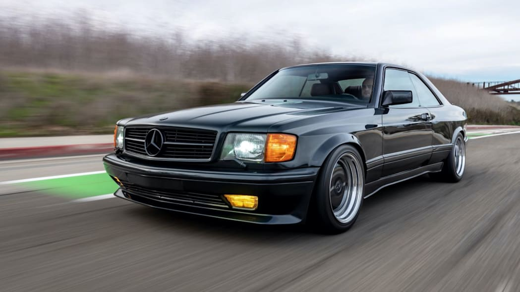 This wonderful 1989 Mercedes-Benz 560 SEC AMG Widebody is up for auction
