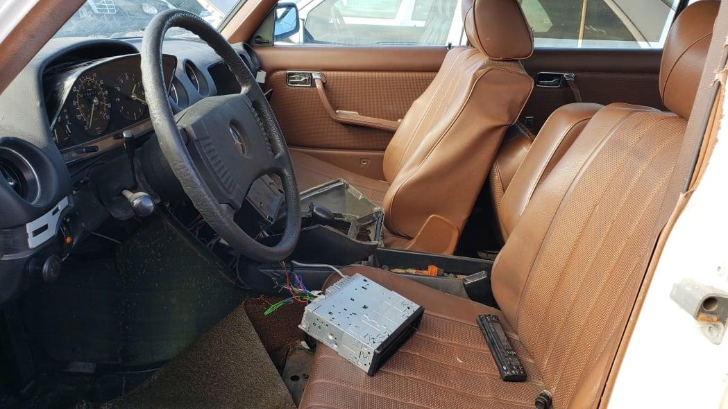 18 - 1979 Mercedes-Benz 300TD in California junkyard - photo by Murilee Martin