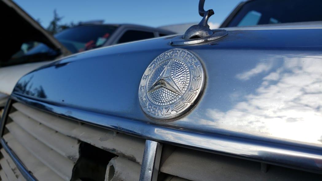 22 - 1979 Mercedes-Benz 300TD in California junkyard - photo by Murilee Martin