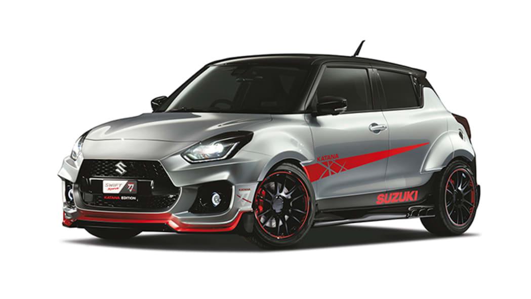 Suzuki Swift Sport Katana Tokyo Auto Salon show car