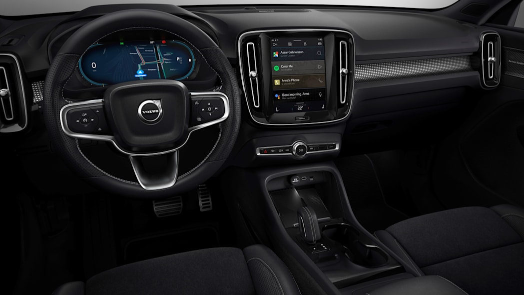 Fully electric Volvo XC40 introduces brand new infotainment syst