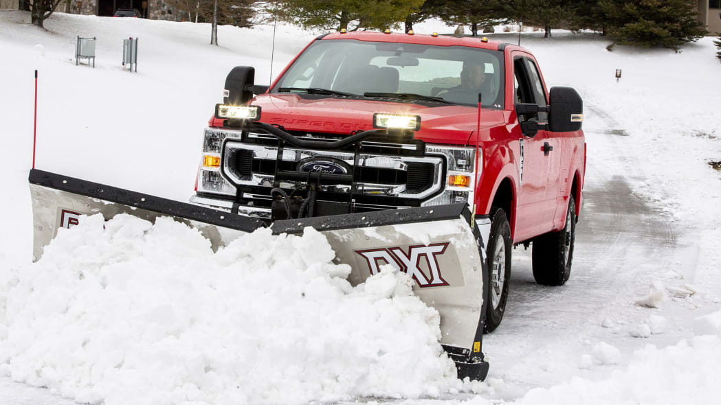 2020 Ford Super Duty Plow 5