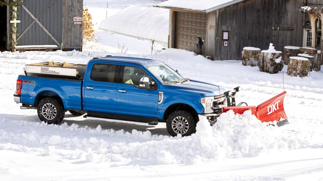 2020 Ford Super Duty Plow 6