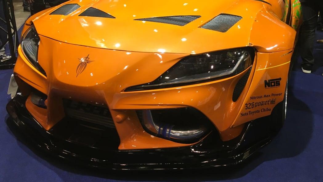 NATS Lexus SC430 Toyota Supra custom