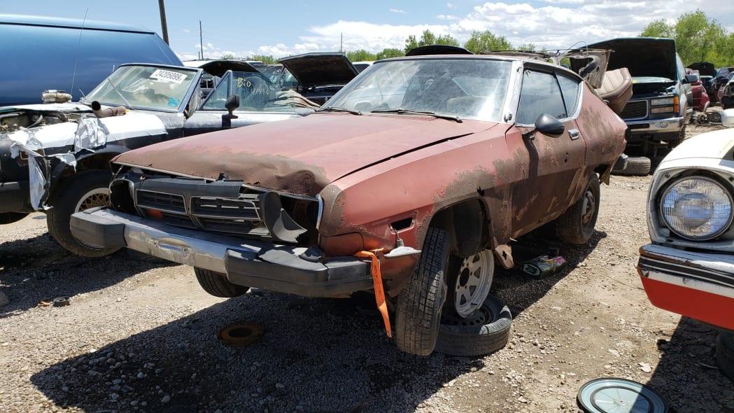 23 - 1978 Datsun 200SX in Colorado junkyard - photo by Murilee Martin