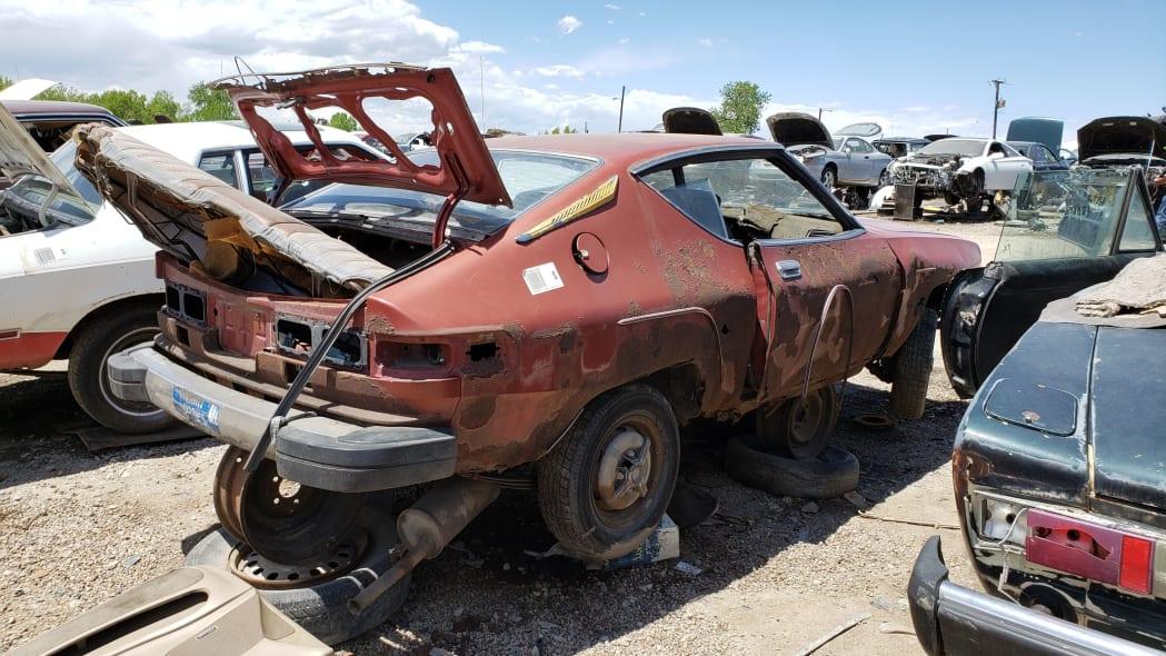 32 - 1978 Datsun 200SX in Colorado junkyard - photo by Murilee Martin