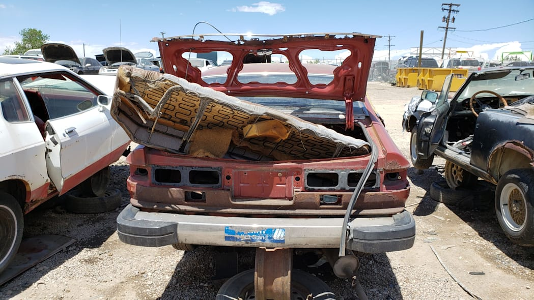 34 - 1978 Datsun 200SX in Colorado junkyard - photo by Murilee Martin
