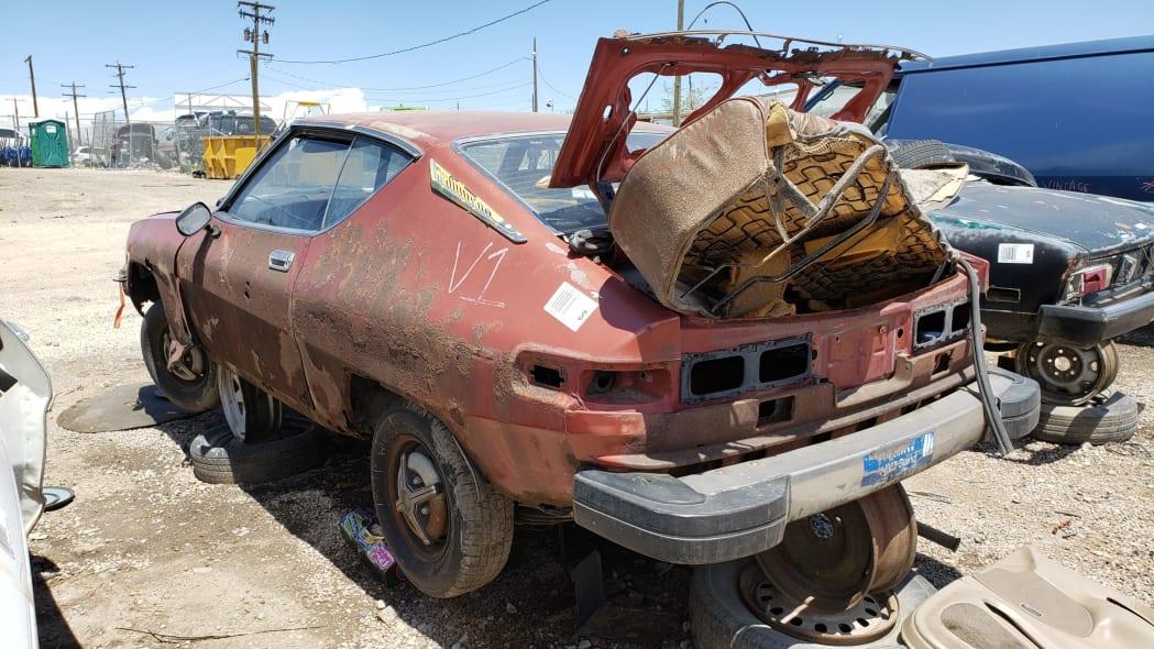 35 - 1978 Datsun 200SX in Colorado junkyard - photo by Murilee Martin