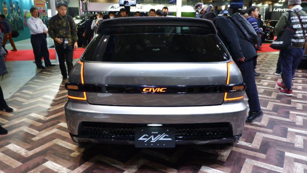 Honda Civic Cyber Night Japan Cruiser 2020 at Tokyo Auto Salon