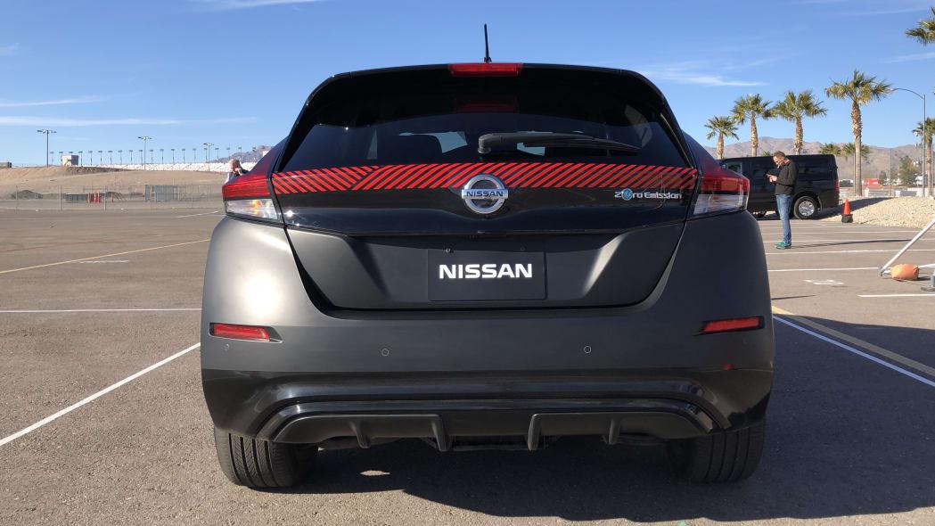 Nissan Leaf e-4ORCE prototype