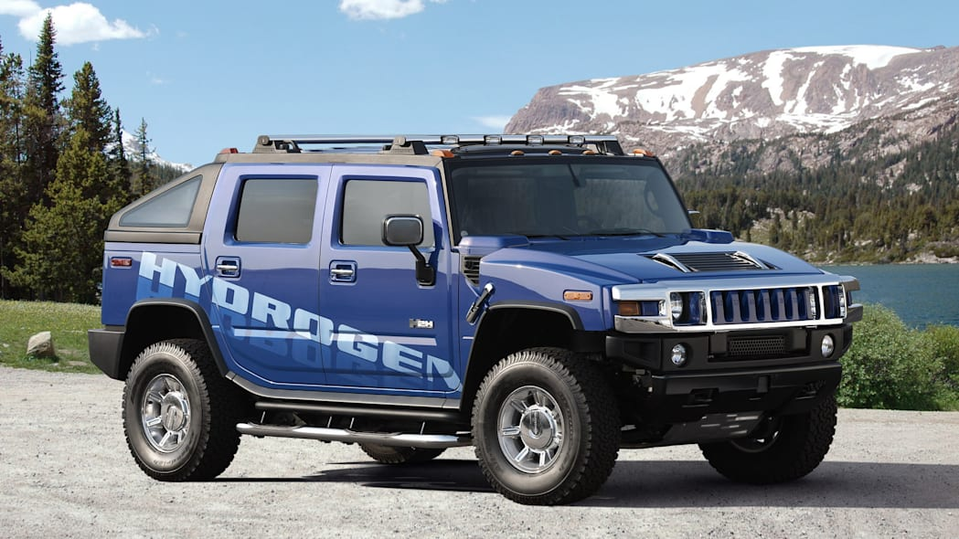 General Motors has tried to cast Hummer in a greener light before